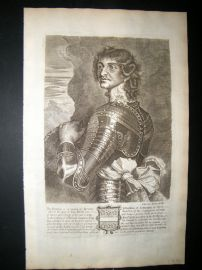 Guillim Display of Heraldy 1679 Folio Portrait. Bertram Ashburnham